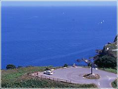 美しい自然、広大な海と積丹半島を一望