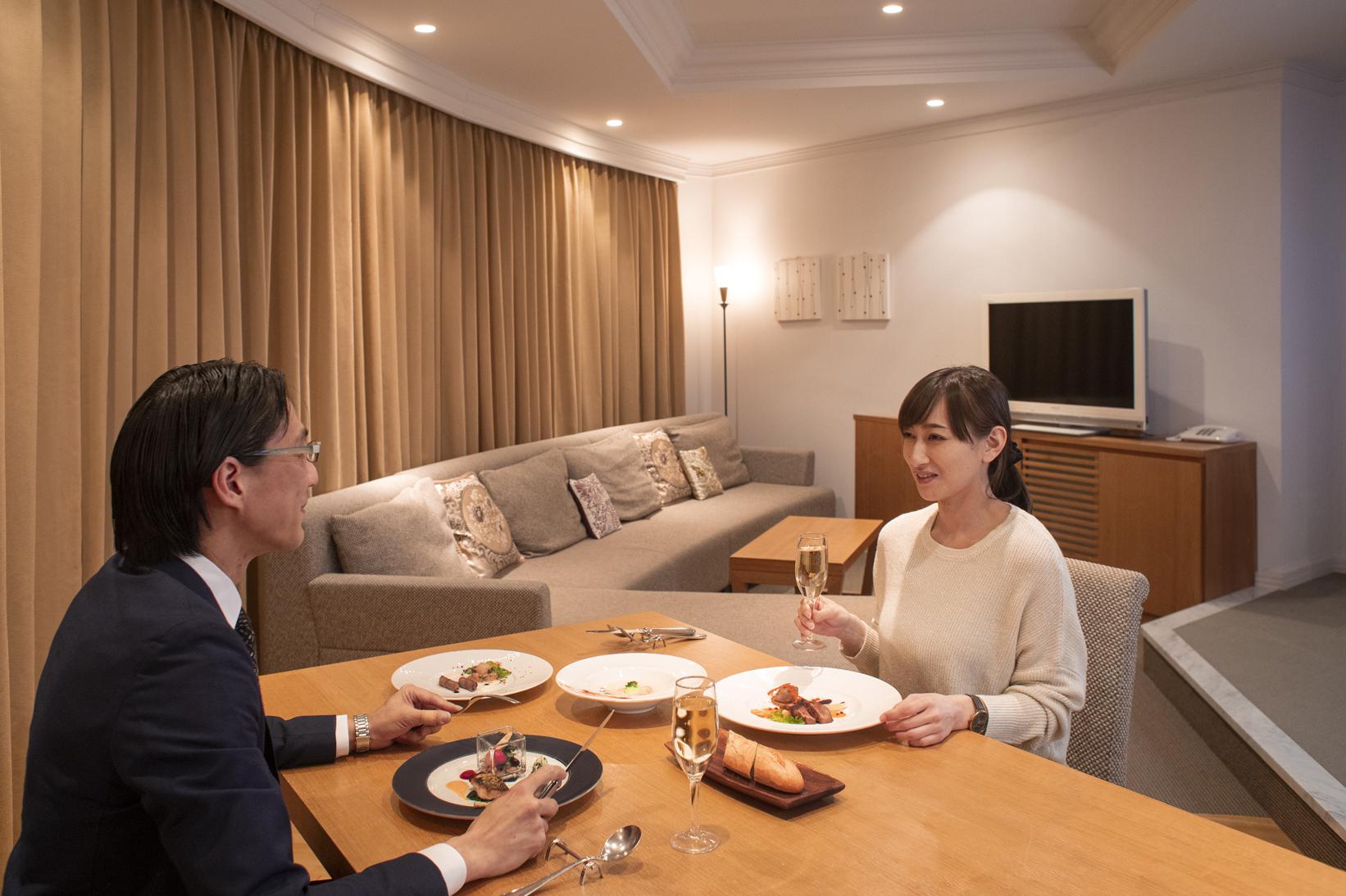 フレンチ 部屋食 安心 コロナ対策 ワイン 小樽 フレンチ 北海道