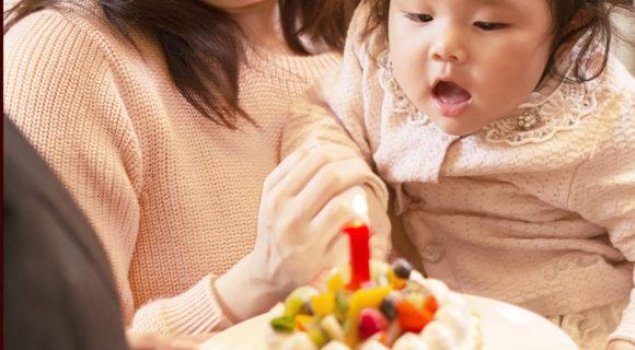 【奥様とお子様へのサプライズ演出にどうぞ!】 1歳のお誕生日おめでとうママもありがとうプラン