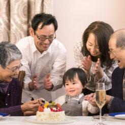 【みんなで「もてなす」家族の記念日】 露天風呂付客室 家族で祝う一日プラン お祝いにぴったりのデコレーションケーキ付