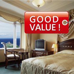 【開業記念プラン】『露天風呂付客室 朝食付Good Value Plan』海側選択は特典付