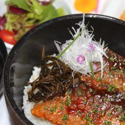 朝食の『ごはん』を群来太郎丼に変更可能です