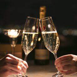 【22時間ステイ&乾杯のスパークリングワイン付】露天風呂付客室 小樽ゆき物語 アーリークリスマスプラン