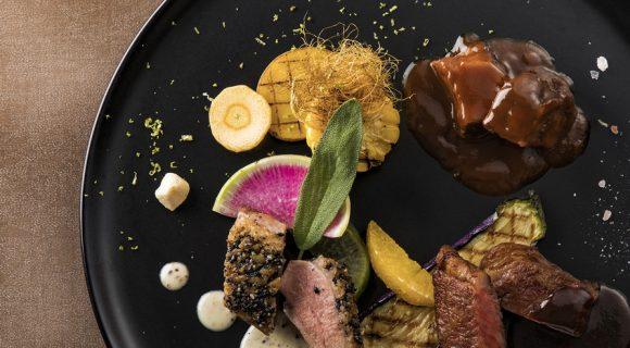 【メインのお肉を5種から3種選択可能】露天風呂付客室 15周年記念プラン ル・シェノン