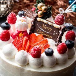 クリスマスケーキご購入で抽選でスイート宿泊券が当たります!