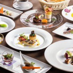 【最上級ディナーをレストランで】露天風呂付客室 最上級ディナー付き『食の喜び』プラン