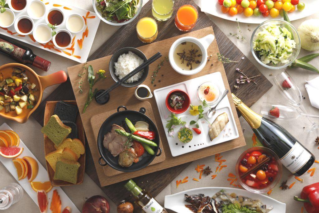 ブッフェ バイキング 朝食 日本海 小樽 豪華 和食 洋食 フレンチ