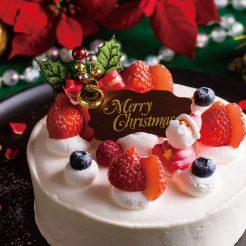 12月20日から25日までクリスマスケーキを販売致します。昨年大好評のローストビーフも販売致しますので是非どうぞ。