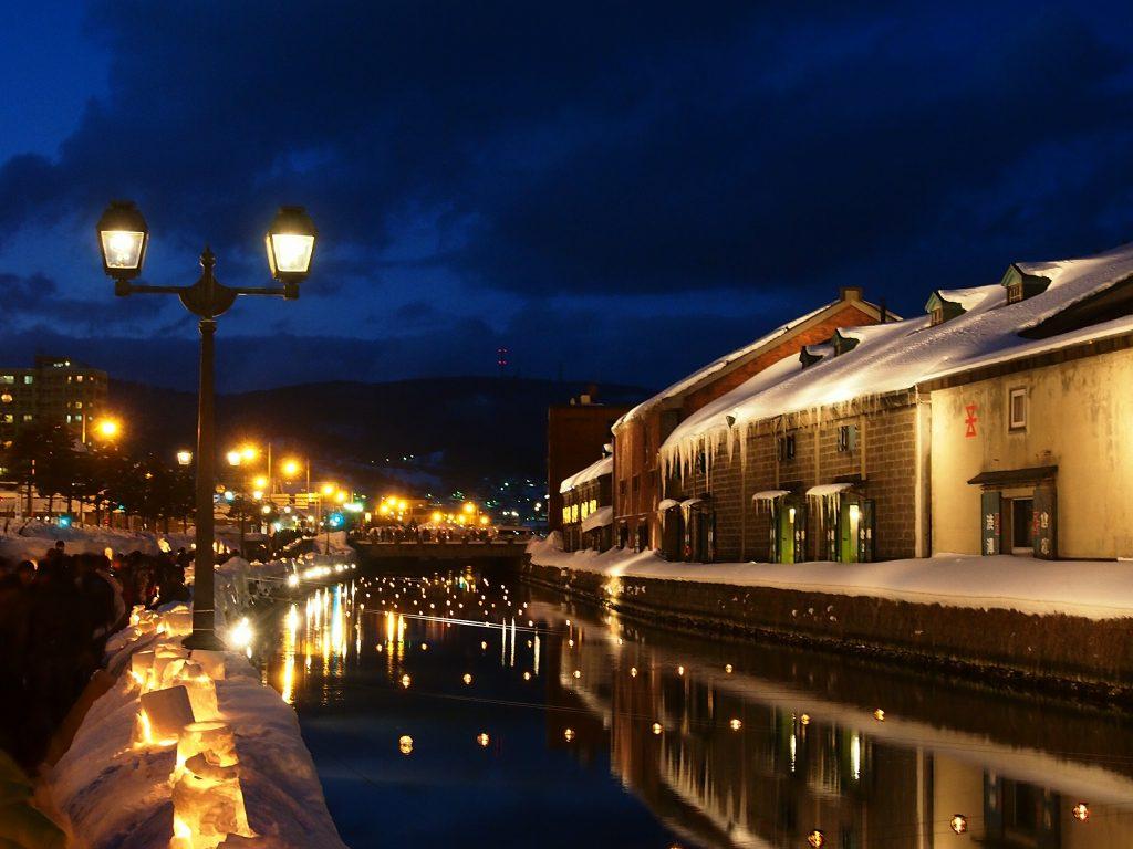運河 小樽 フレンチ 北海道 札幌
